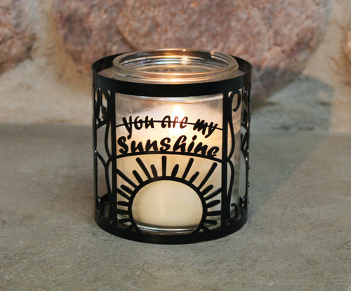 You Are My Sunshine CandleWrap