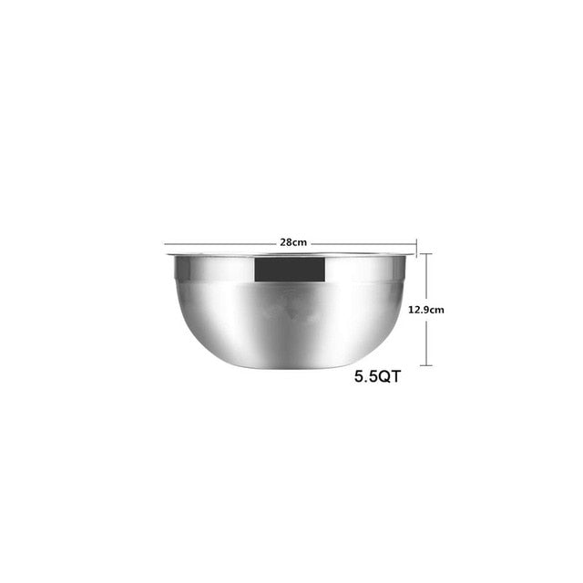 Stainless Steel Mixing Bowls (Set of 6)