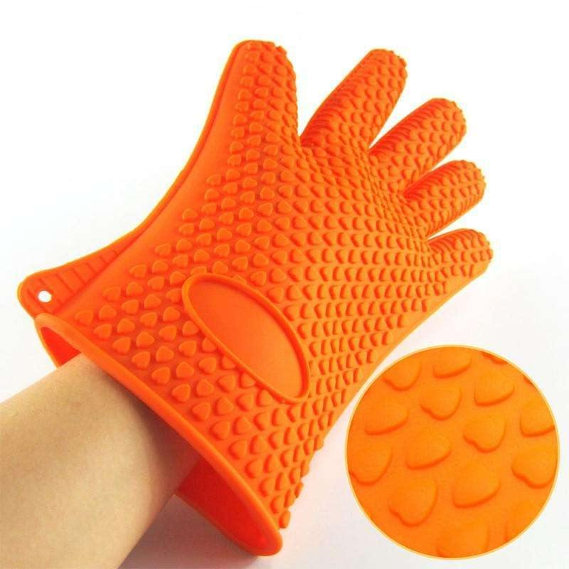 Heat Resistant Silicone Gloves freeshipping - Kitchen-nista