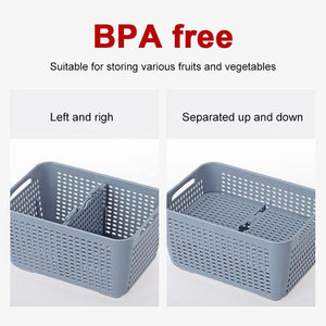 Cargar imagen en el visor de la galería, Fresh Produce Vegetable Fruit Storage Containers 3PACKS freeshipping - Kitchen-nista