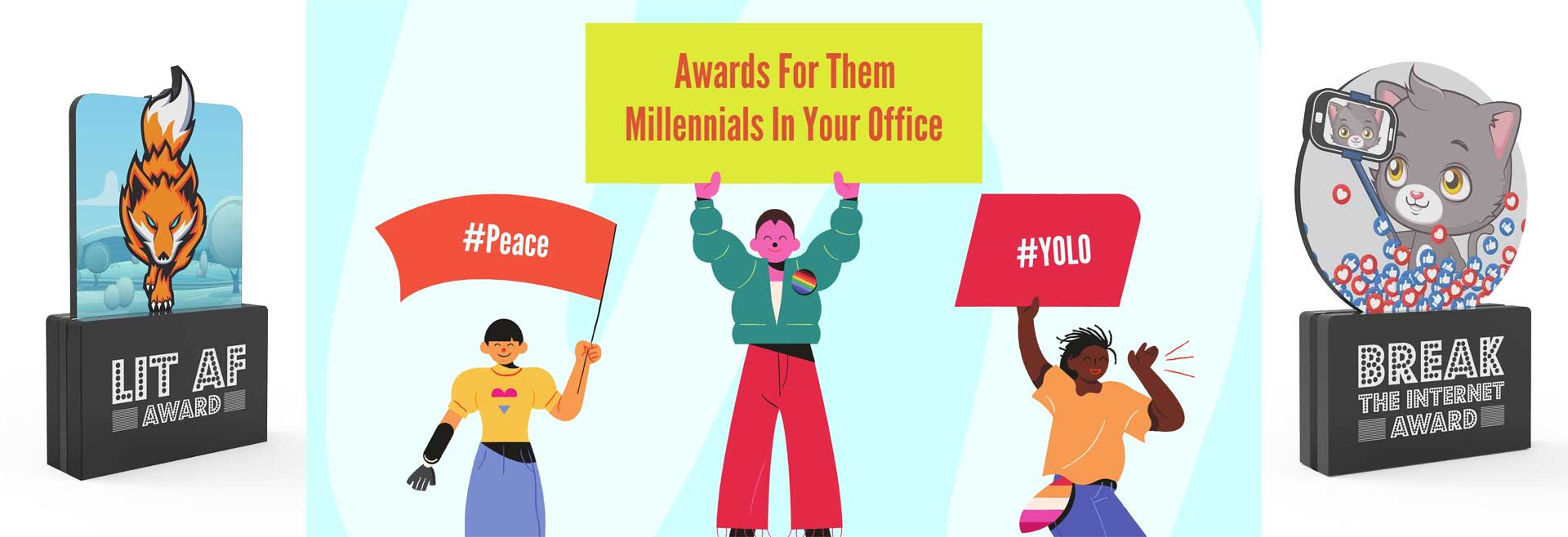 Fun Awards for Millennials in the Workplace