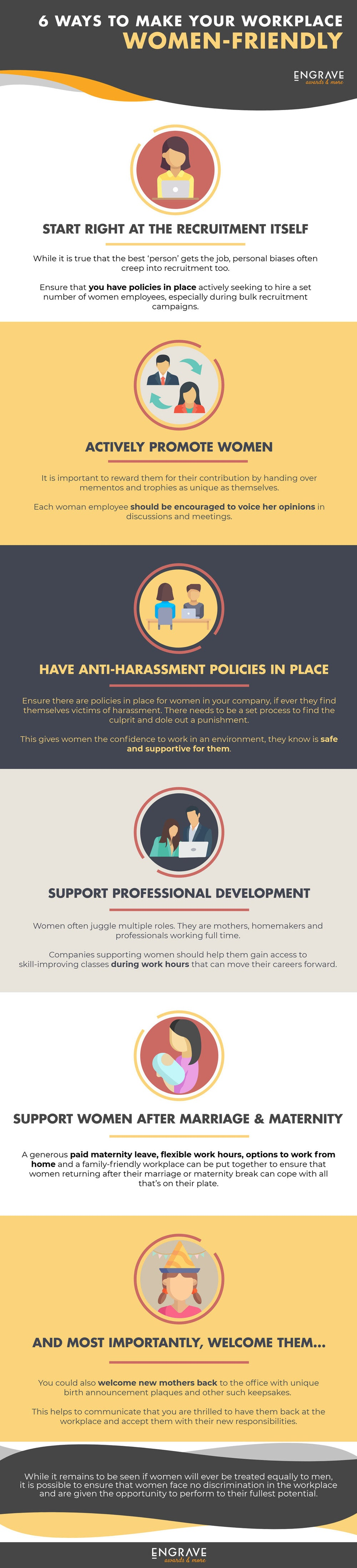 6 Ways To Make Your Workplace Women-Friendly
