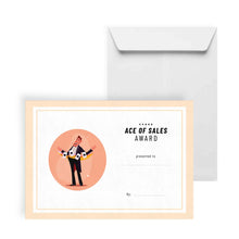 Load image into Gallery viewer, Ace of Sales Award