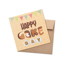 Load image into Gallery viewer, Happy Cake Day Greeting Card