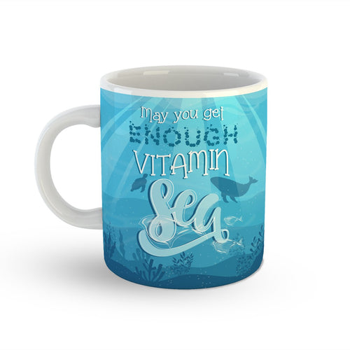 Vitamin Sea Mug Backside View