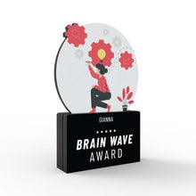 Load image into Gallery viewer, Brain Wave Award