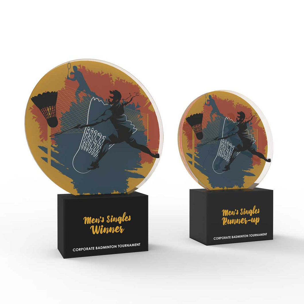 Badminton - Corporate Tournament Trophies