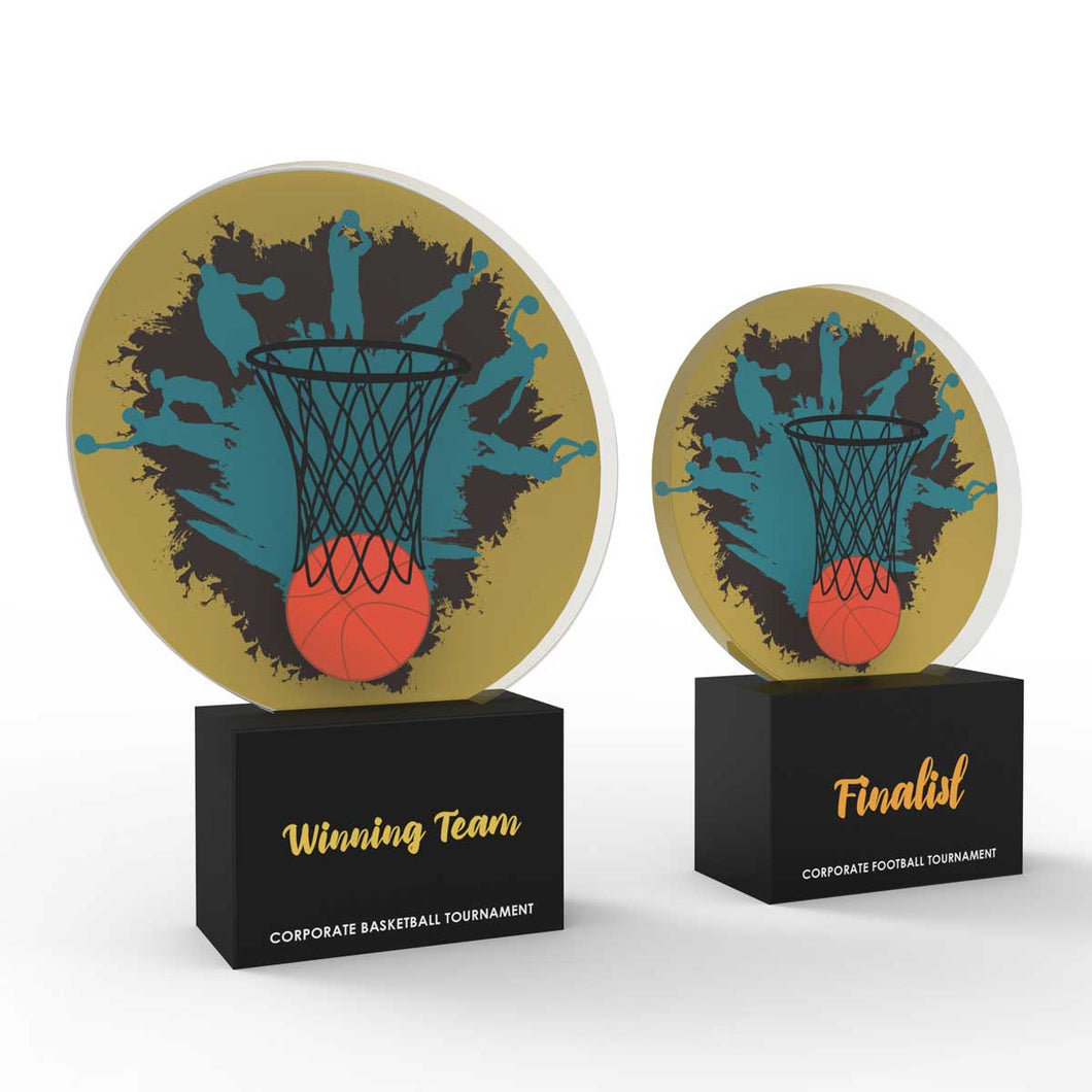 Basketball - Corporate Tournament Trophies