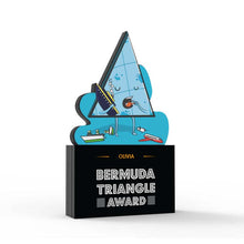 Load image into Gallery viewer, Bermuda Triangle Award