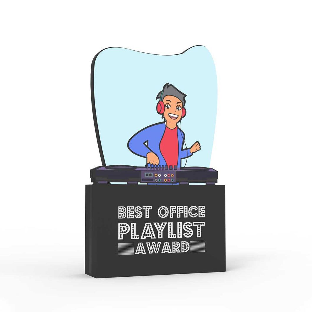 Best Office Playlist Award - Male
