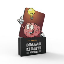 Load image into Gallery viewer, Personalised Dimaag Ki Batti Award