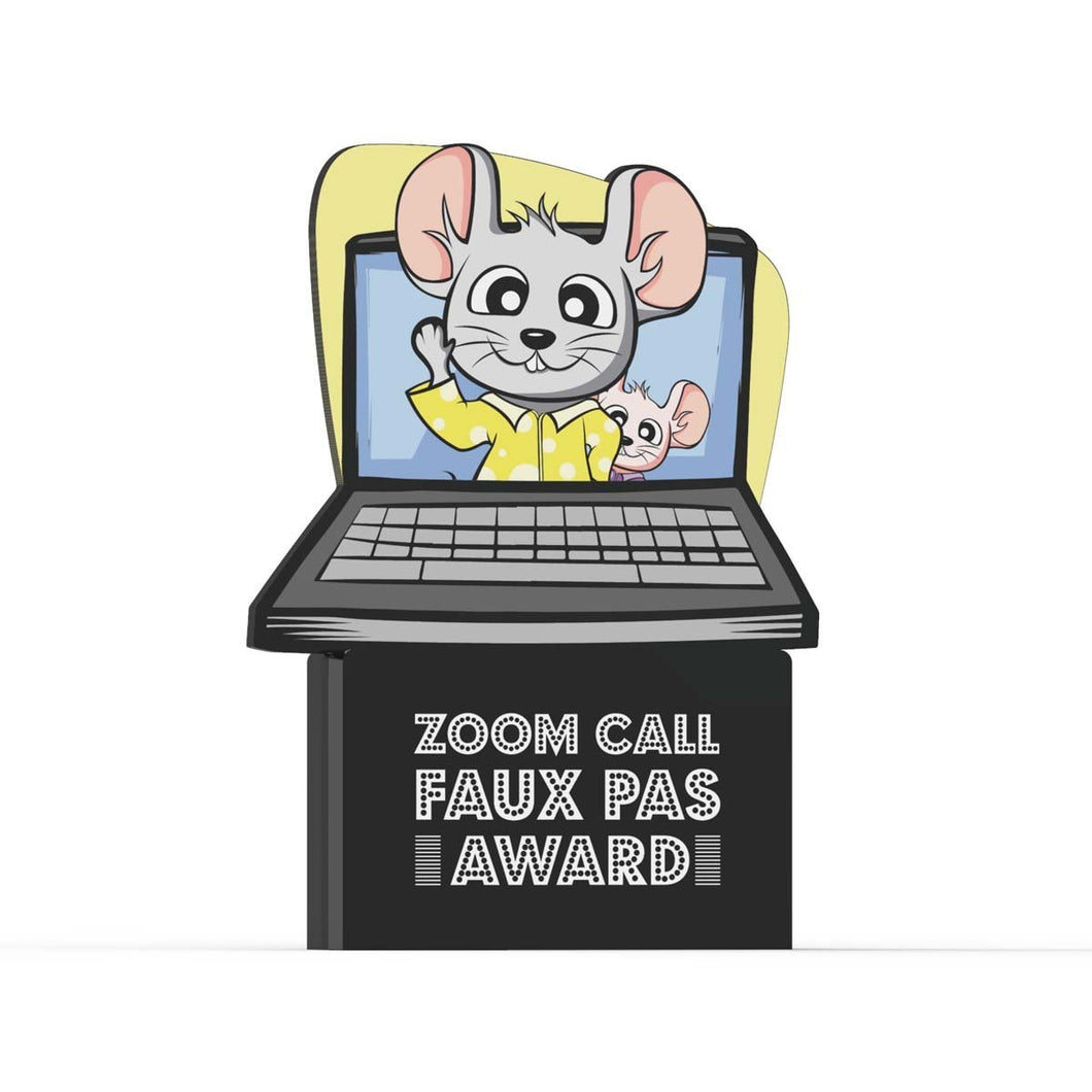 Zoom call faux pas Award