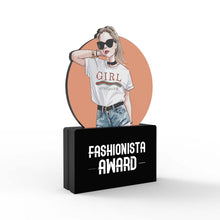 Load image into Gallery viewer, Fashionista Award