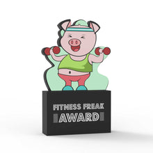 Load image into Gallery viewer, Fitness Freak Award