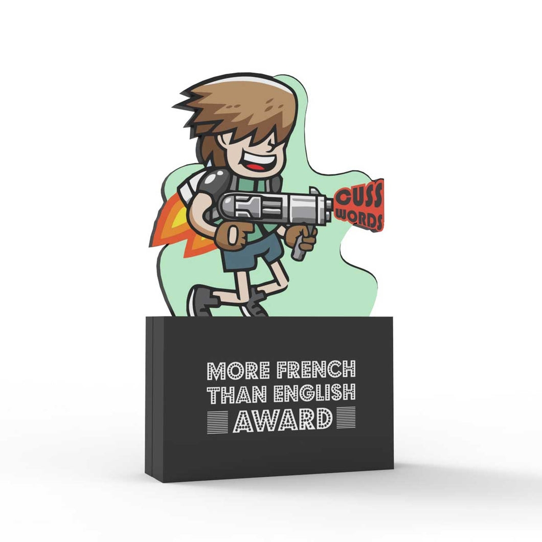 More French Than English Award