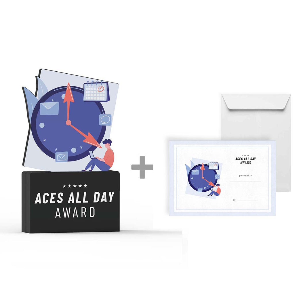 Aces All Day Award