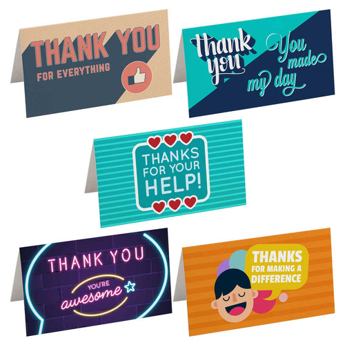 Feel-Good Pack - Thank You Notes (Pack of 50)