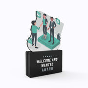 Welcome and Wanted Award