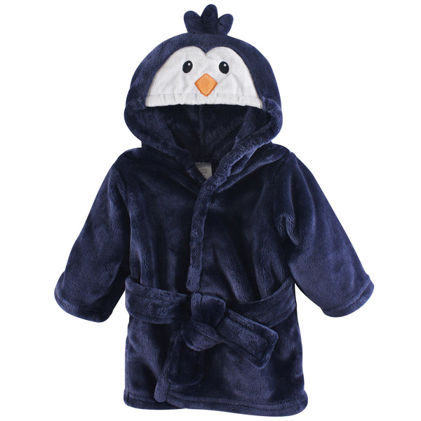 Luvable Friends Plush Bathrobe, Boy Penguin