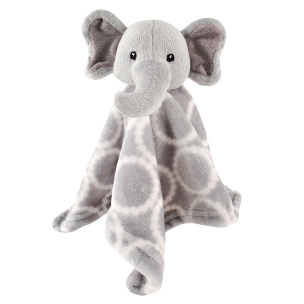Hudson Baby Animal Face Security Blanket, Elephant
