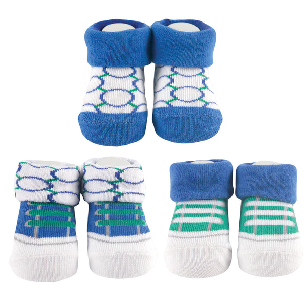 Yoga Sprout Socks Giftset, Blue Dog