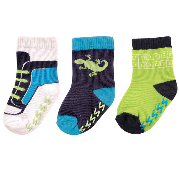 Yoga Sprout Socks, Lizard