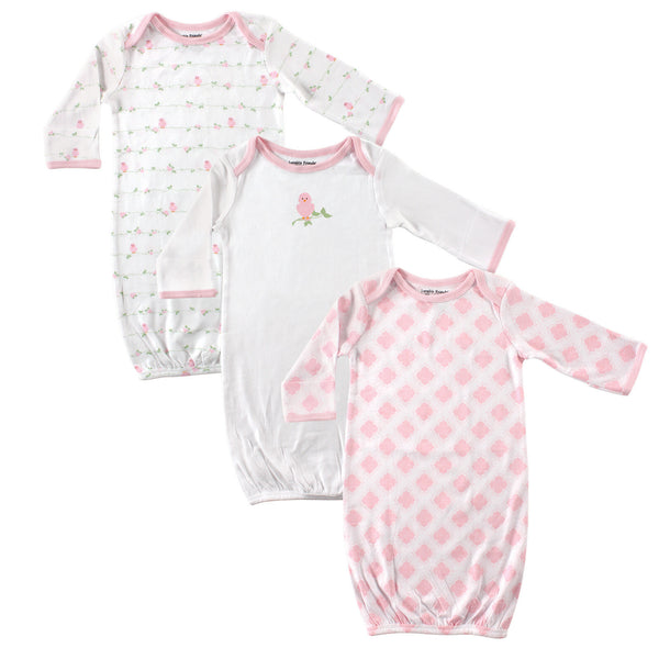 Luvable Friends Cotton Gowns, Bird