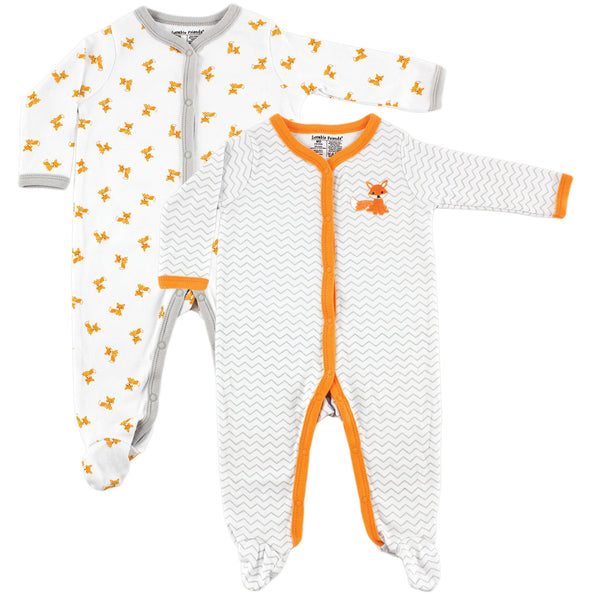 Luvable Friends Cotton Sleep and Play, Fox