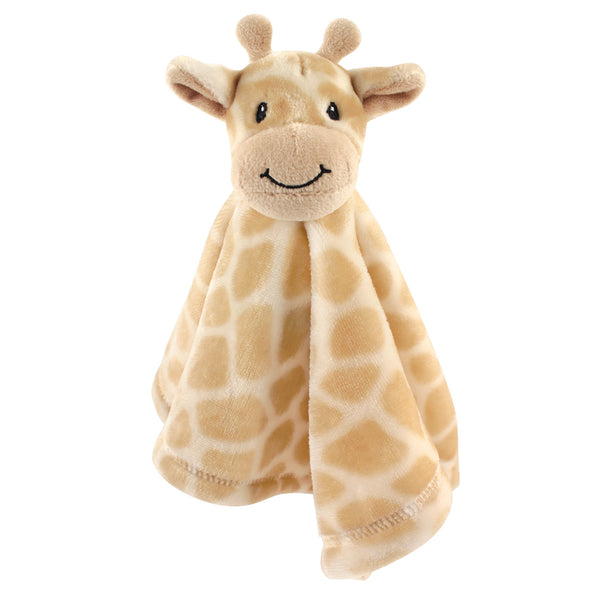 Hudson Baby Animal Face Security Blanket, Giraffe
