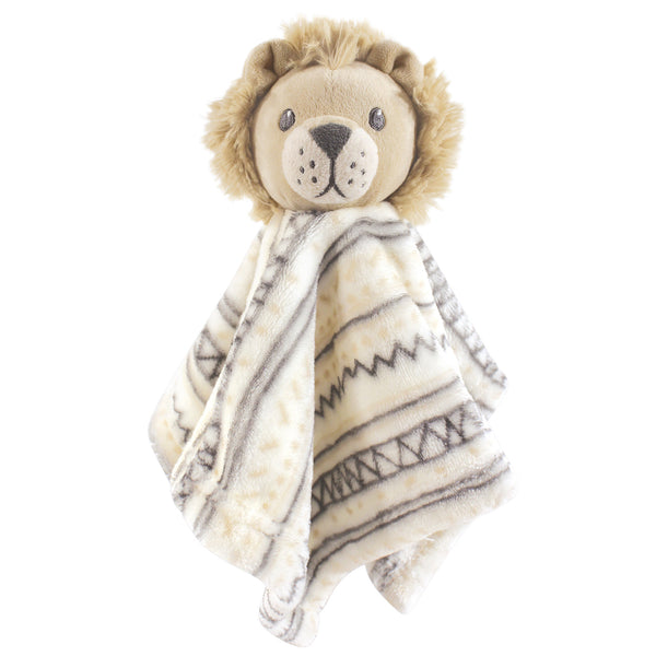 Hudson Baby Animal Face Security Blanket, Lion