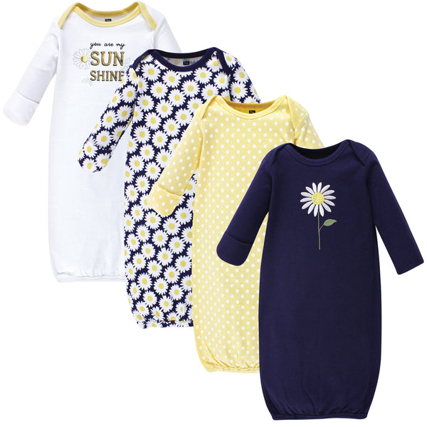 Hudson Baby Cotton Gowns, Daisy
