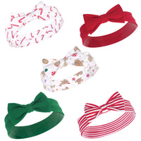Hudson Baby Cotton and Synthetic Headbands, Sugar Spice