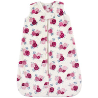 Hudson Baby Plush Sleeping Bag, Sack, Blanket, Floral