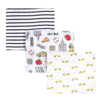 Hudson Baby Cotton Muslin Swaddle Blankets, Nyc