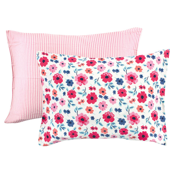 Touched by Nature Organic Cotton Toddler Pillowcase, Garden Floral