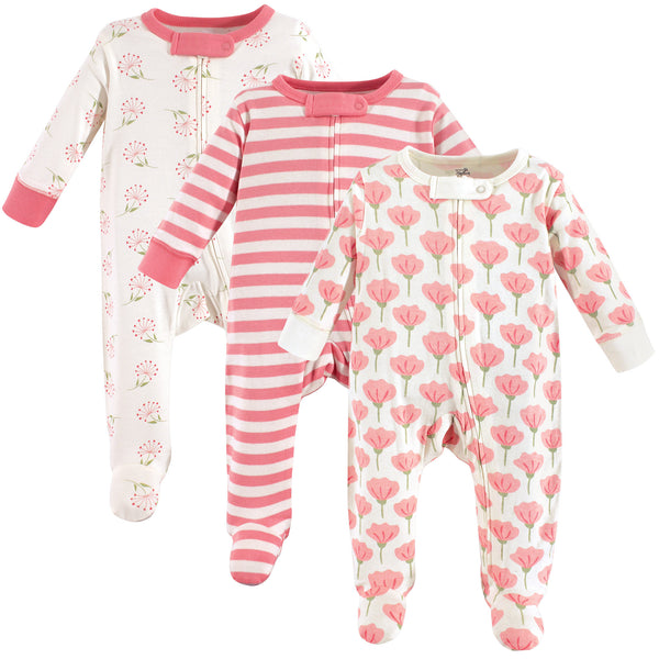 Touched by Nature Organic Cotton Sleep and Play, Tulip