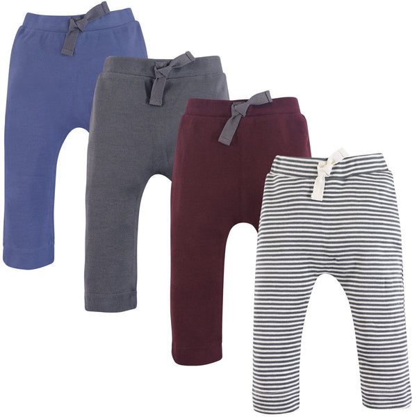 Touched by Nature Organic Cotton Pants, Charcoal Burgundy