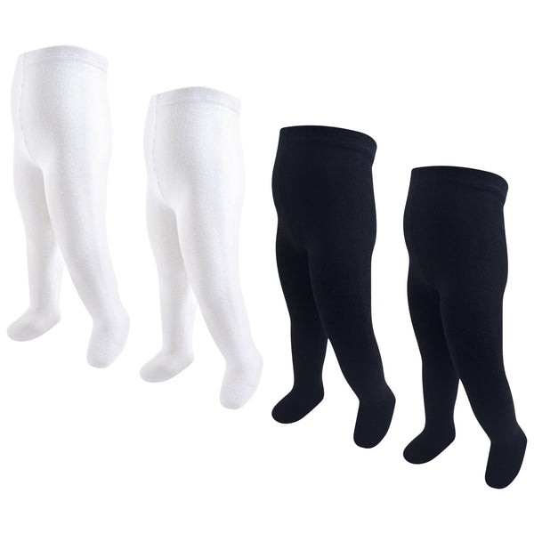Touched by Nature Organic Cotton Tights, Black White