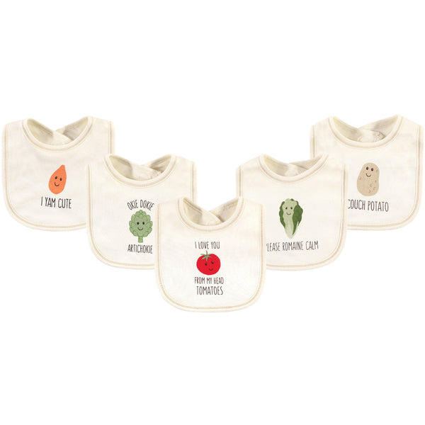 Touched by Nature Organic Cotton Bibs, Tomatoes