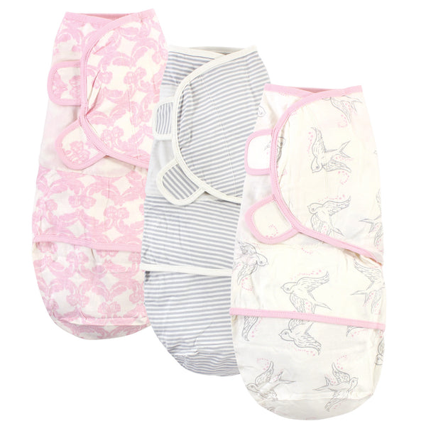 Touched by Nature Organic Cotton Swaddle Wraps, Bird