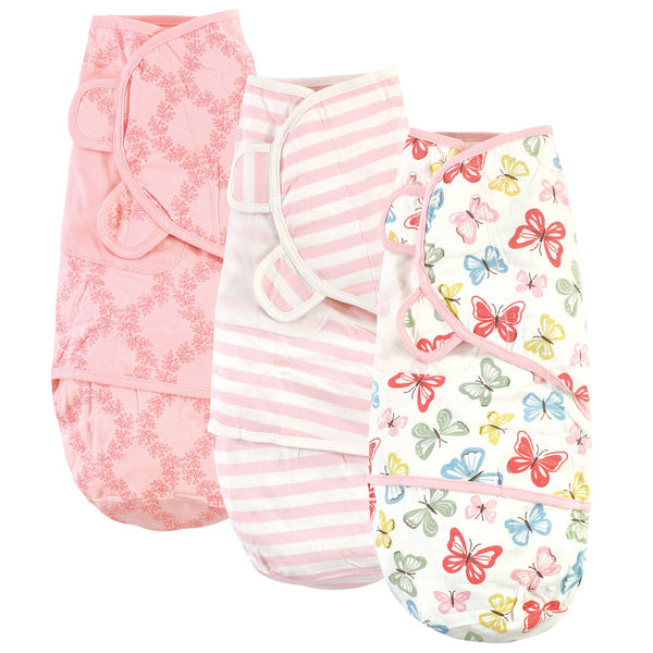Touched by Nature Organic Cotton Swaddle Wraps, Butterflies