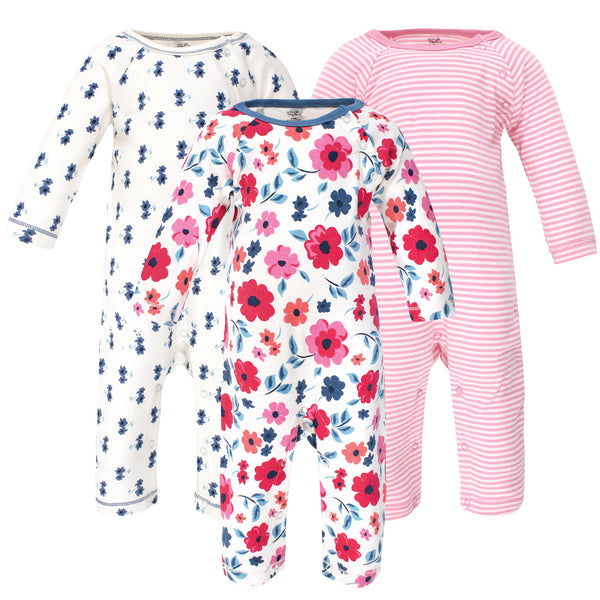 Touched by Nature Organic Cotton Coveralls, Garden Floral
