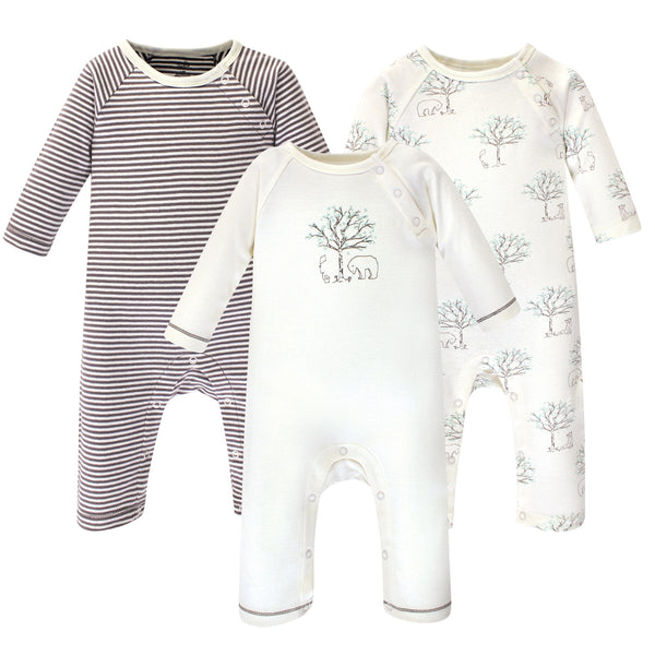 Touched by Nature Organic Cotton Coveralls, Birch Tree