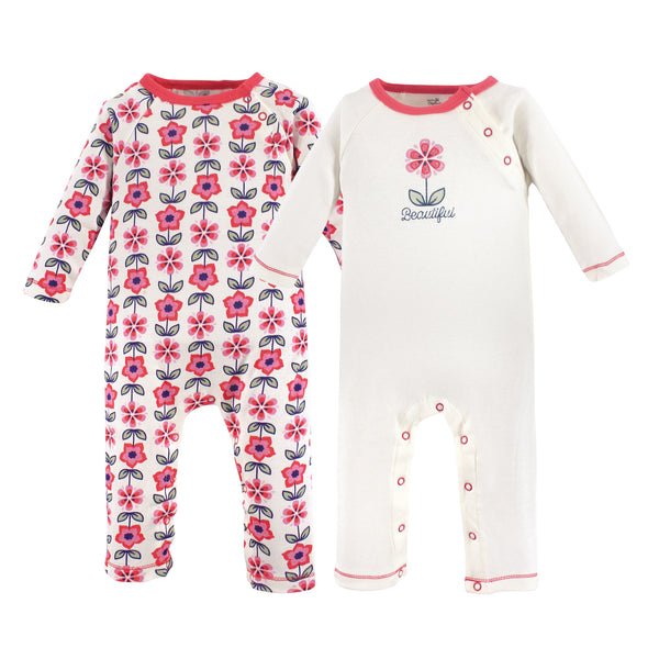 Touched by Nature Organic Cotton Coveralls, Flower