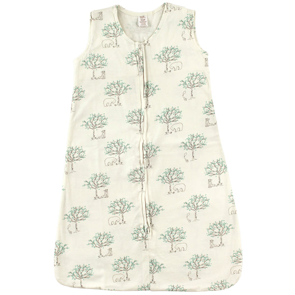 Touched by Nature Organic Cotton Sleeveless Wearable Sleeping Bag, Sack, Blanket, Birch Tree