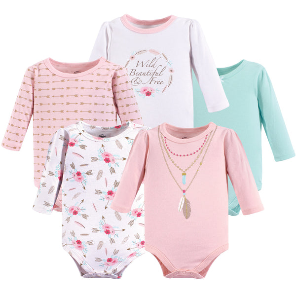 Little Treasure Cotton Bodysuits, Boho