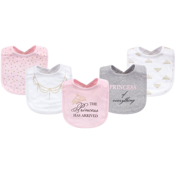 Little Treasure Cotton Bibs, Princess