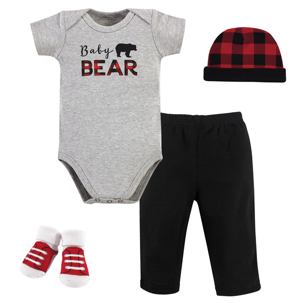 Little Treasure Boxed Gift Set, Baby Bear 4-Piece