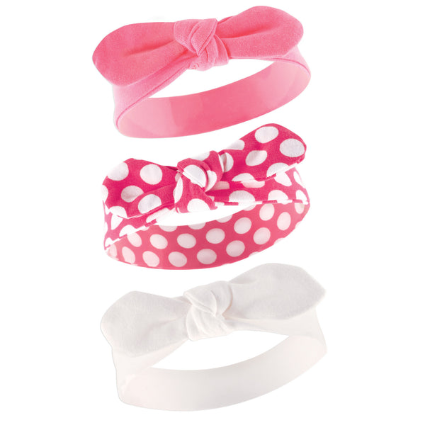 Yoga Sprout Cotton Headbands, Polka Dot