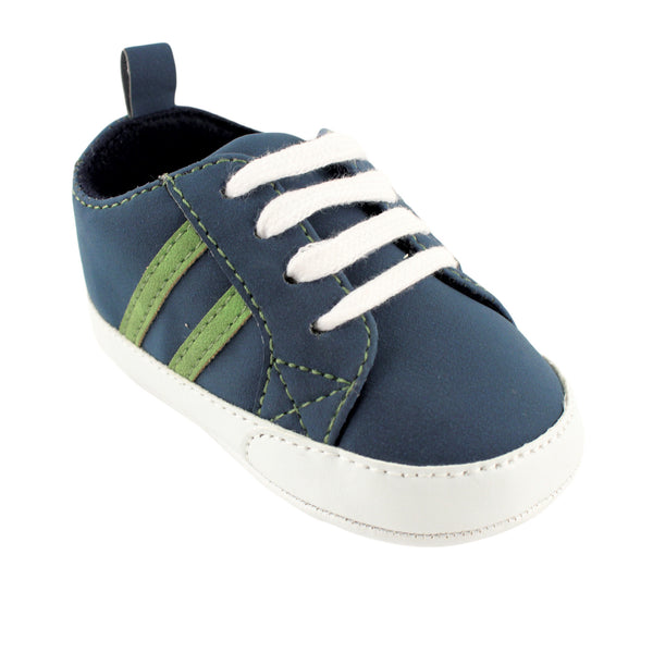 Yoga Sprout Sneakers, Navy Green